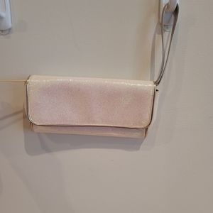 Marc by Marc Jacobs Glitter White Wristlet
